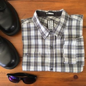 BillaBong | Plaid Casual Dress Shirt